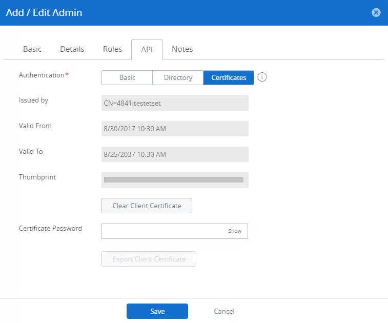 VMware AirWatch API Explorer